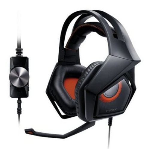 Asus STRIX PRO Gaming Headset, 60mm Drivers, Noise Cancellation, Foldable Cups,