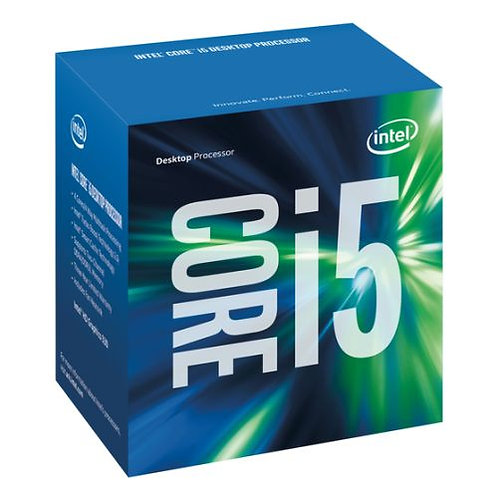 Intel Core I5-6400 CPU, 1151, 2.7 GHz, Quad Core, 65W, 14nm, 6MB Cache, HD GFX,