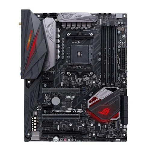 Asus ROG CROSSHAIR VI HERO (WI-FI AC), AMD X370, AM4, ATX, 4 DDR4, XFire/SLI, W