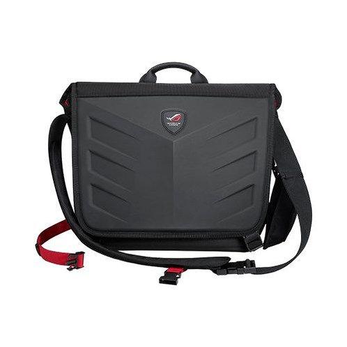 "Asus ROG Ranger Messenger 15.6"" Laptop Carry Case, 1260D Gucci Polyester, Water"
