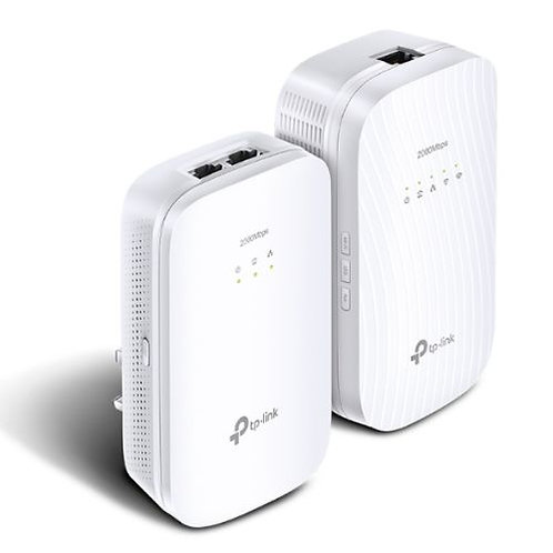 TP-LINK (TL-WPA9610 KIT) AC1200 (867+300) Wireless Dual Band Powerline Adapter