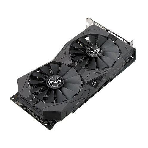 Asus Radeon ROG STRIX RX570 OC, 4GB GDDR5, PCIe3, 2 DVI, HDMI, DP, 1310MHz Cloc