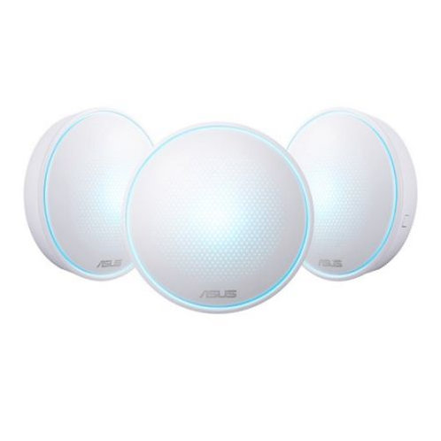 Asus LYRA Whole-Home Mesh Wi-Fi System, 3 Pack, Tri-Band AC2200, Parental Contr