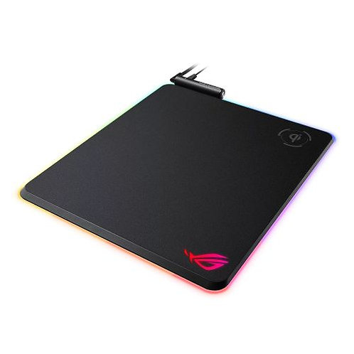 Asus ROG Balteus RGB Gaming Mouse Pad with Qi Wireless Charging, Customisable L
