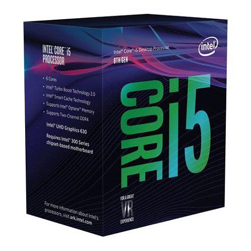 Intel Core i5-8500 CPU, 1151, 3.0 GHz (4.10 Turbo), 6-Core, 65W, 14nm, 9MB Cach