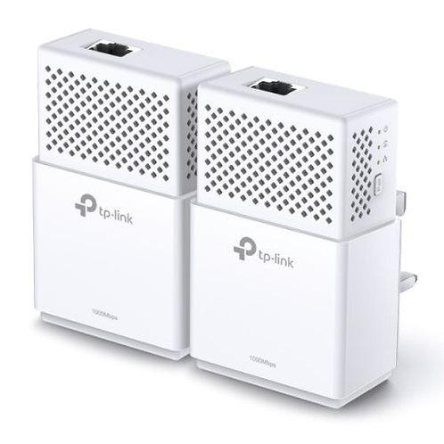 TP-LINK (TL-PA7010 KIT) AV1000 GB Powerline Adapter Kit, 1-Port
