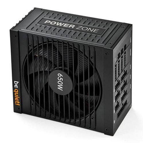 Be Quiet! 650W Power Zone PSU, Fully Modular, Fluid Dynamic Fan, 80+ Bronze, SL