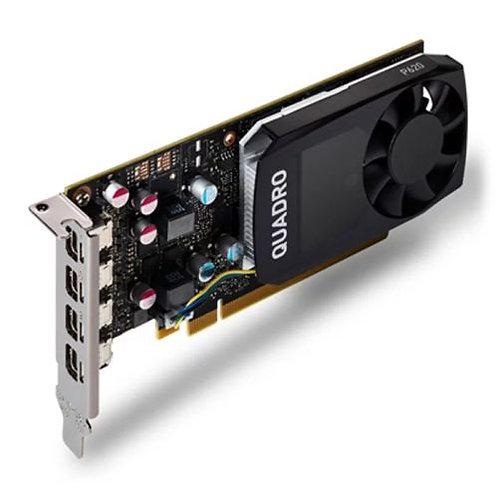 PNY Quadro P620 Professional Graphics Card, 2GB DDR5, 4 miniDP 1.4 (4 x DP adap