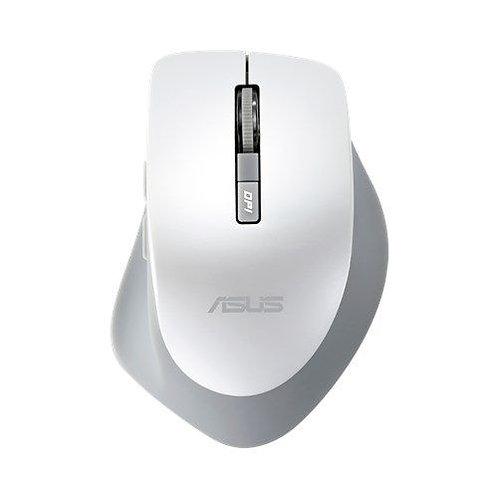 Asus WT425 Wireless Optical Mouse, 1000/1600 DPI, White