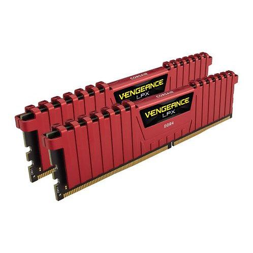 Corsair Vengeance LPX 16GB Kit (2 x 8GB), DDR4, 2400MHz (PC4-19200), CL16, XMP