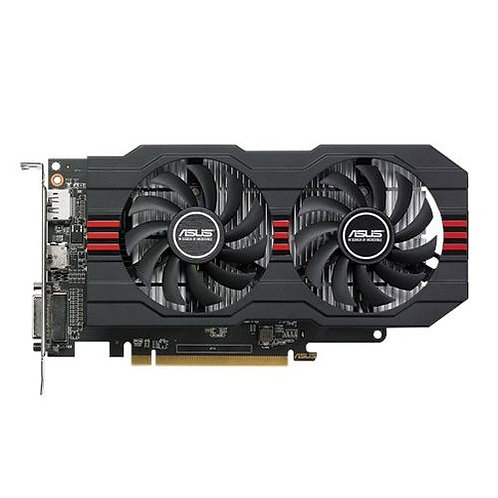 Asus Radeon RX560 OC, 4GB DDR5, PCIe3, DVI, HDMI, DP, 1336MHz Clock, Overclocke