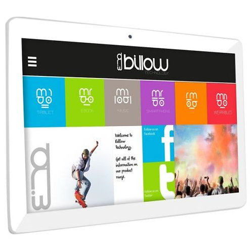 "Billow X101 Pro Tablet, 10.1"", Quad Core, 1GB, 16GB, Dual band WiFi, GPS, Andro"