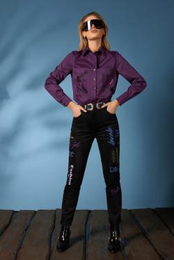 Рубашка 619-2, джинсы 631 (6)