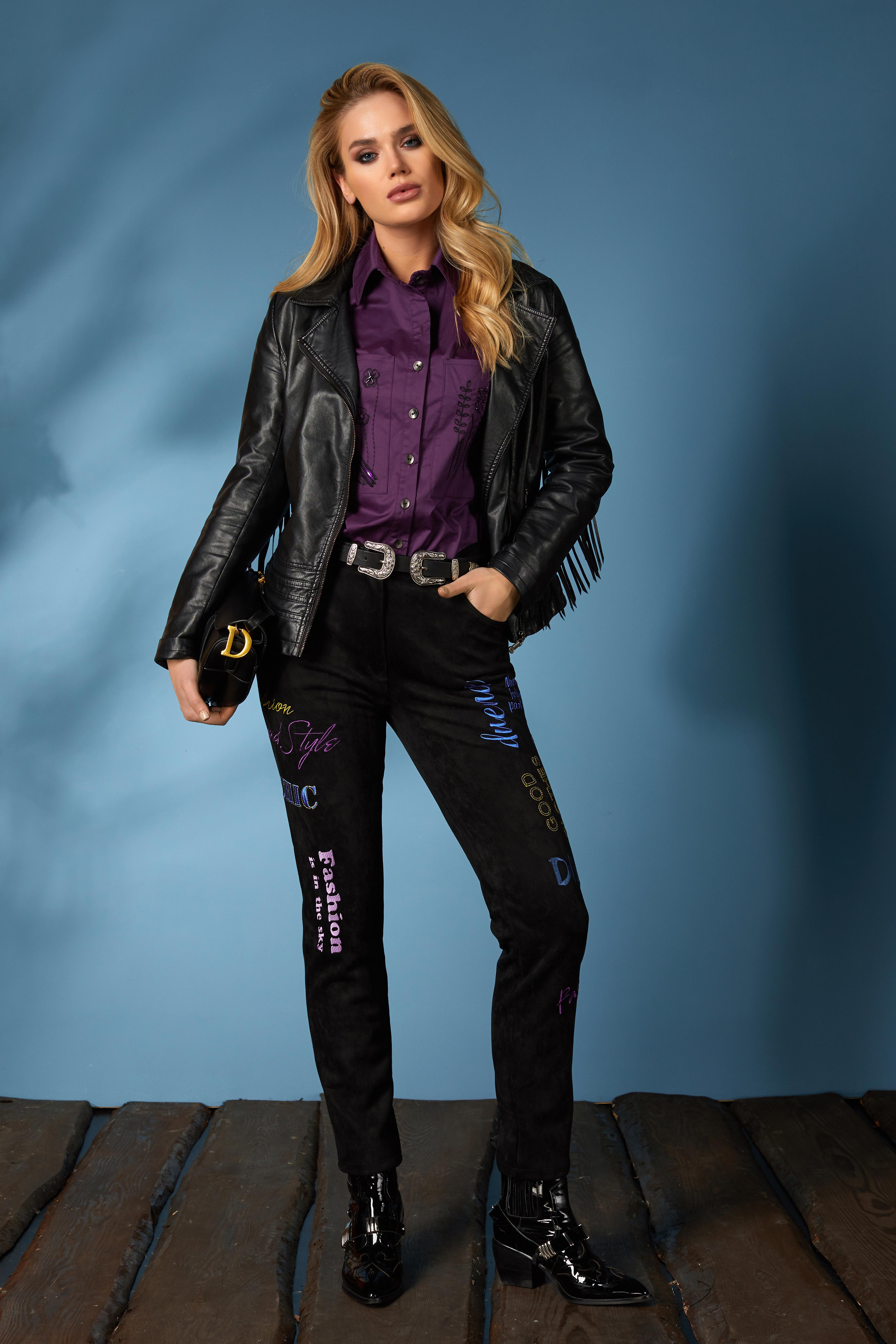 Рубашка 619-2, джинсы 631 (9)