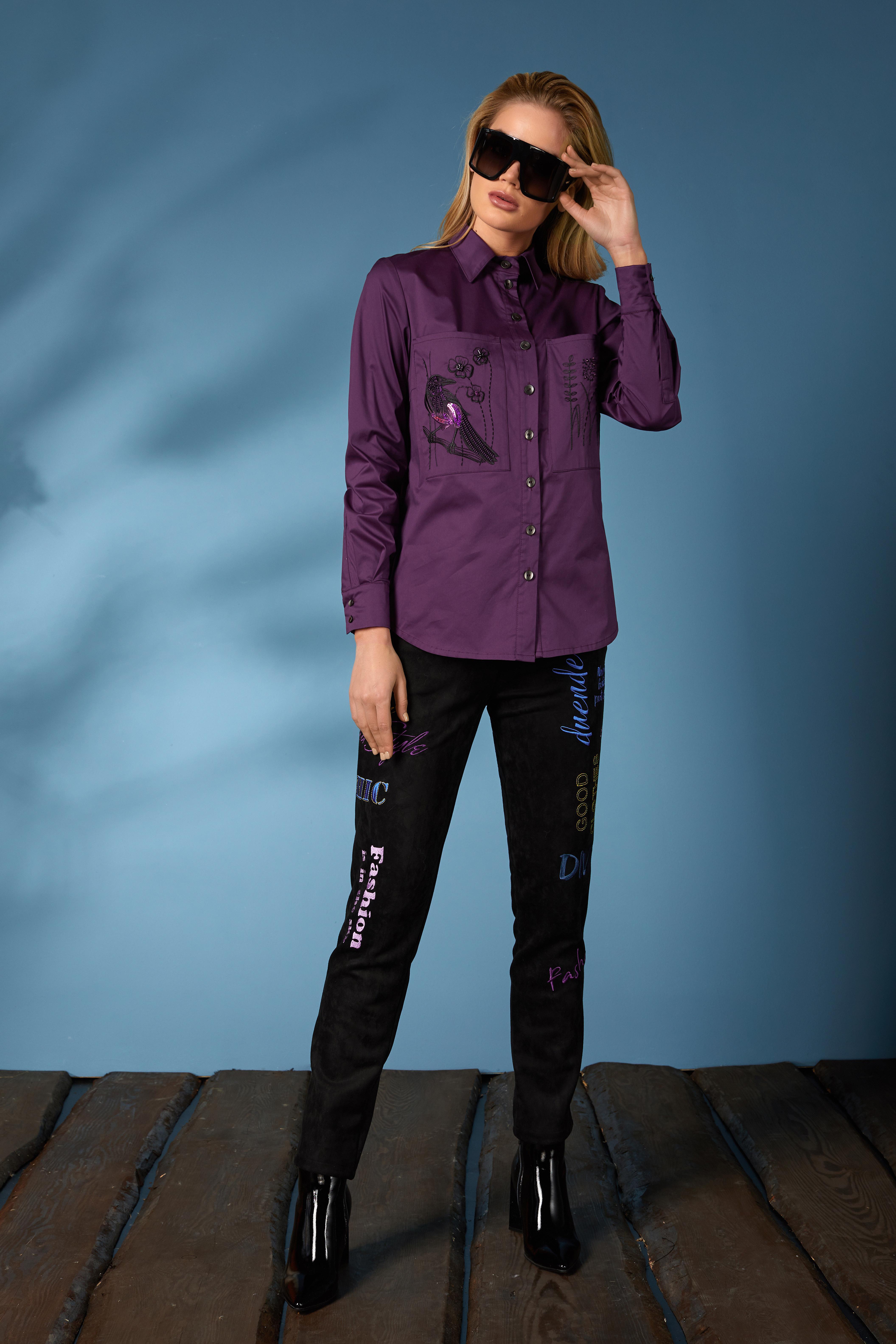 Рубашка 619-2, джинсы 631 (4)