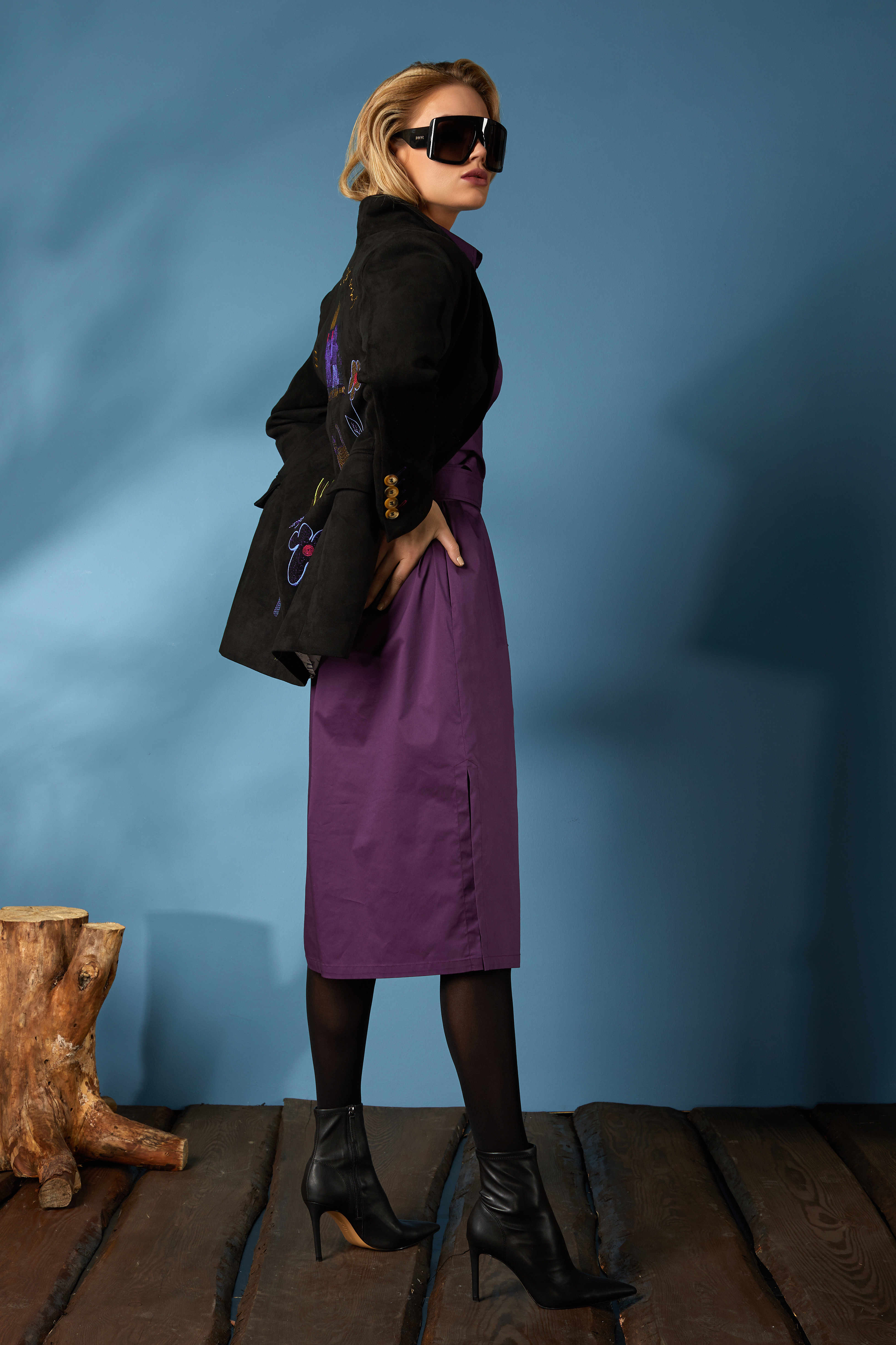 Жакет 1656, платье 625 (3)