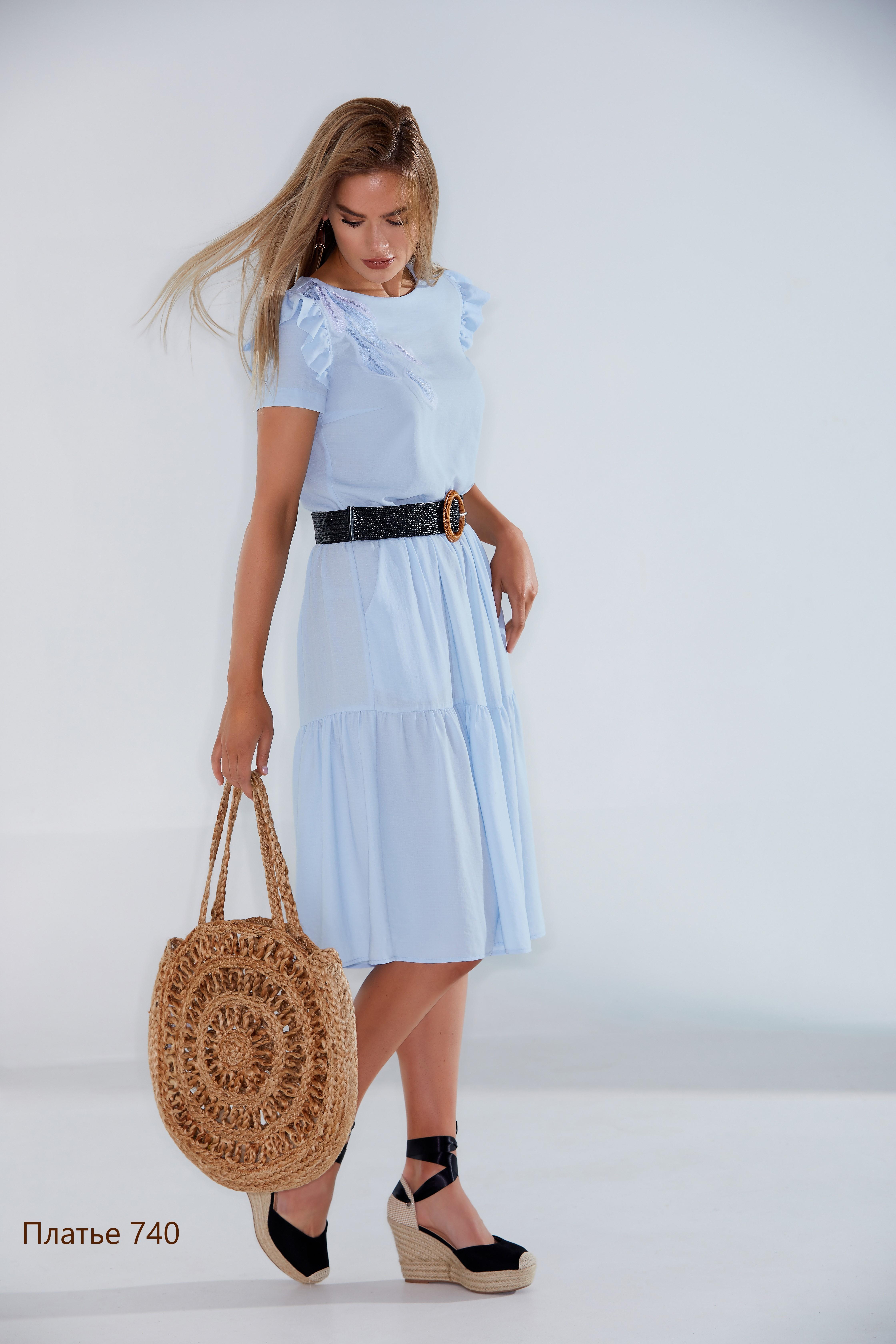 Платье 740 (2)