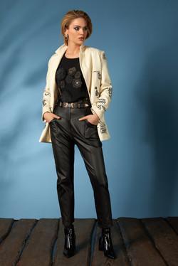 Жакет 656, блуза 621, брюки 606 (4)