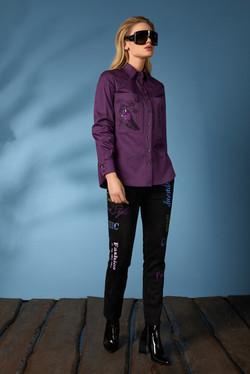 Рубашка 619-2, джинсы 631 (2)