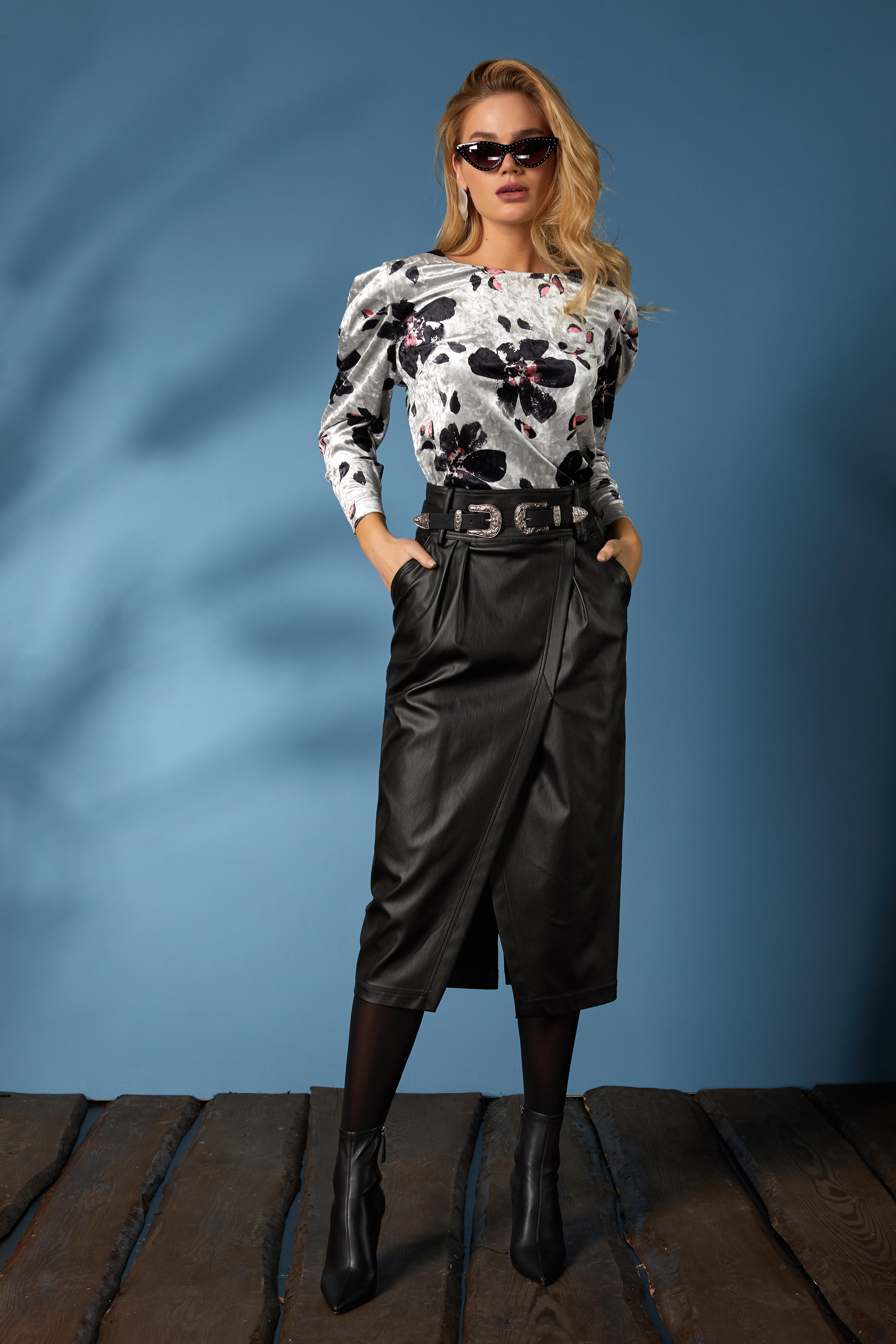 Блуза 640, юбка 641 (2)