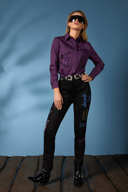 Рубашка 619-2, джинсы 631 (5)