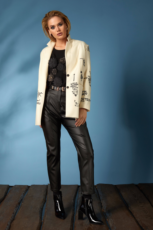 Жакет 656, блуза 621, брюки 606 (2)