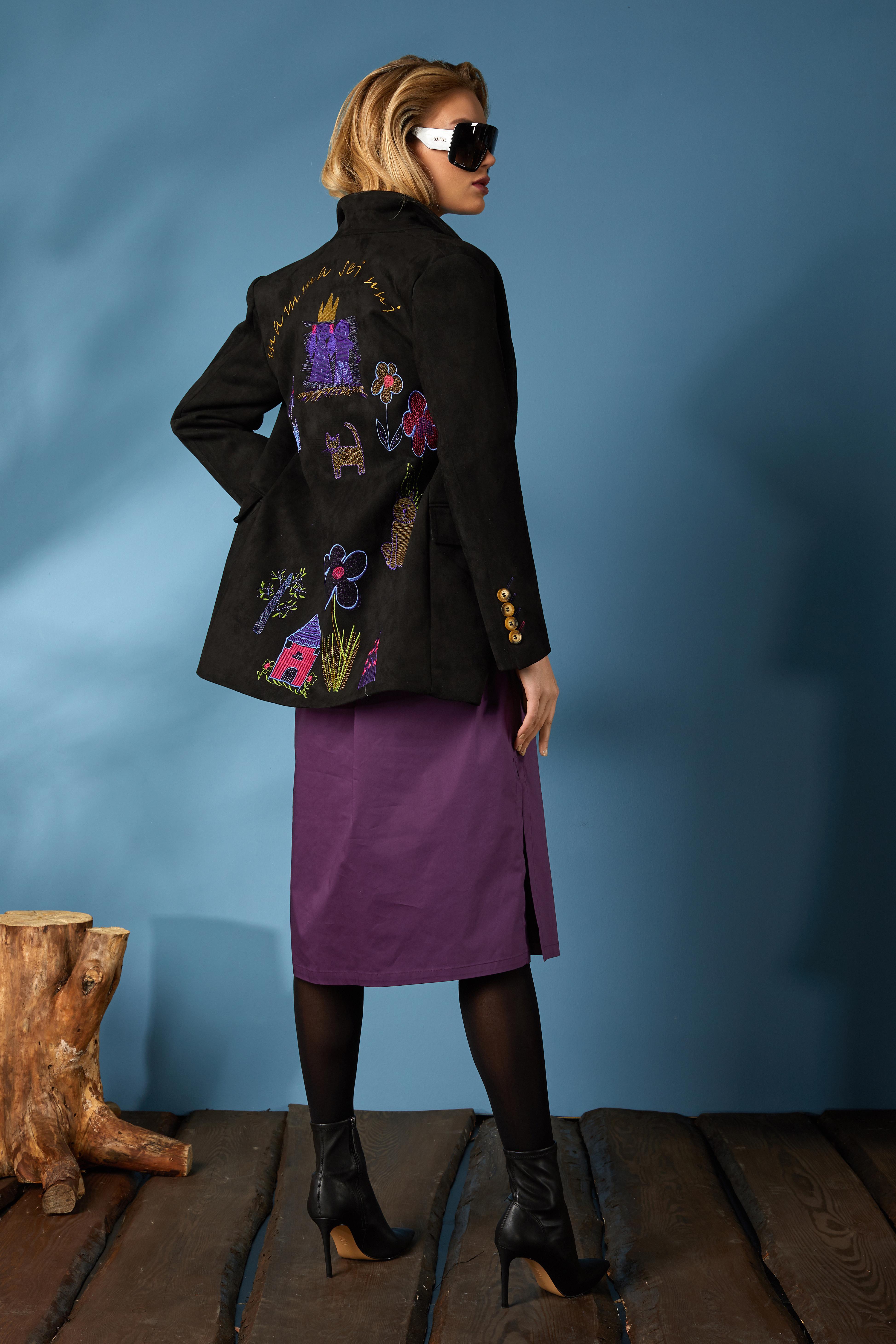 Жакет 1656, платье 625 (1)
