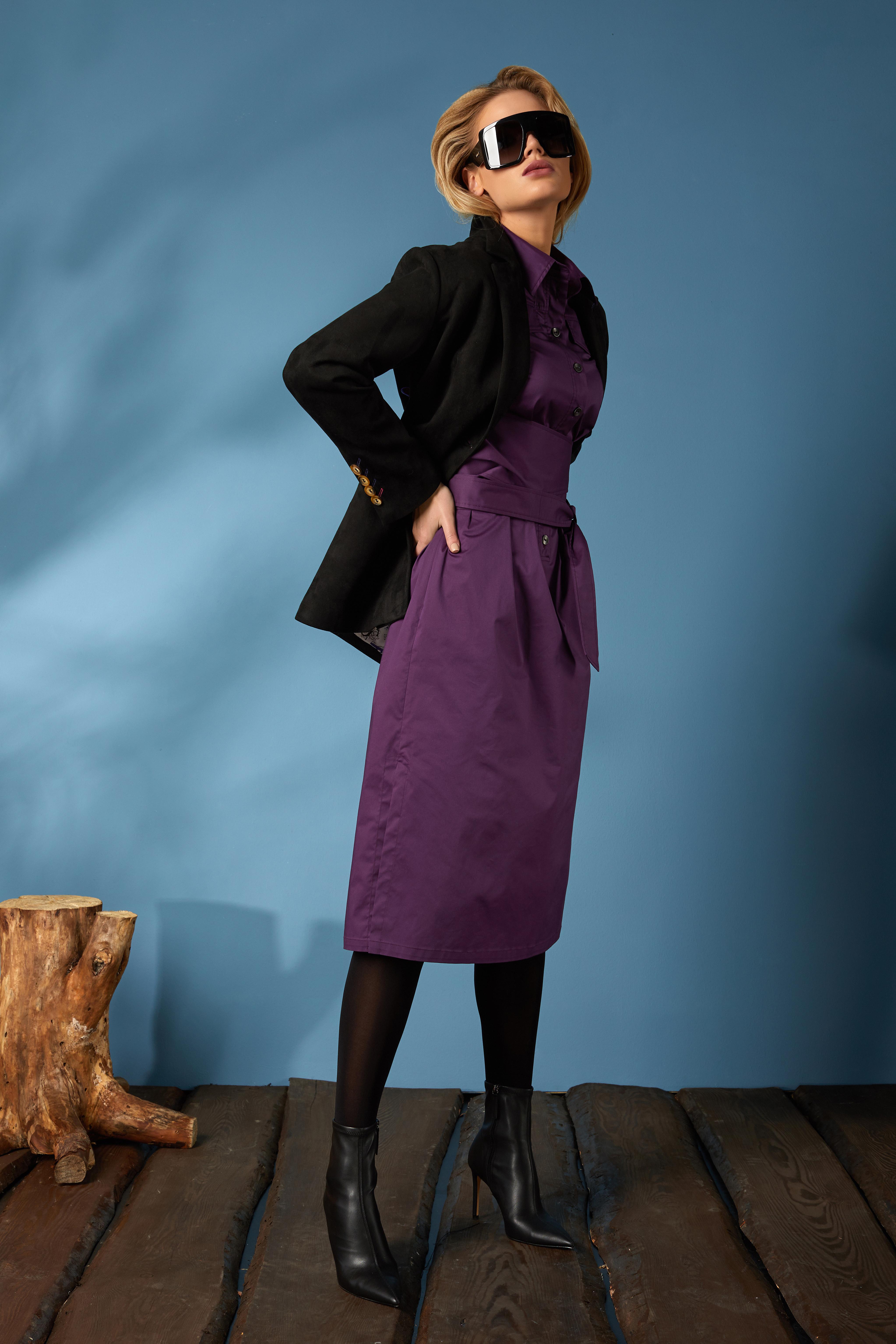 Жакет 1656, платье 625 (2)