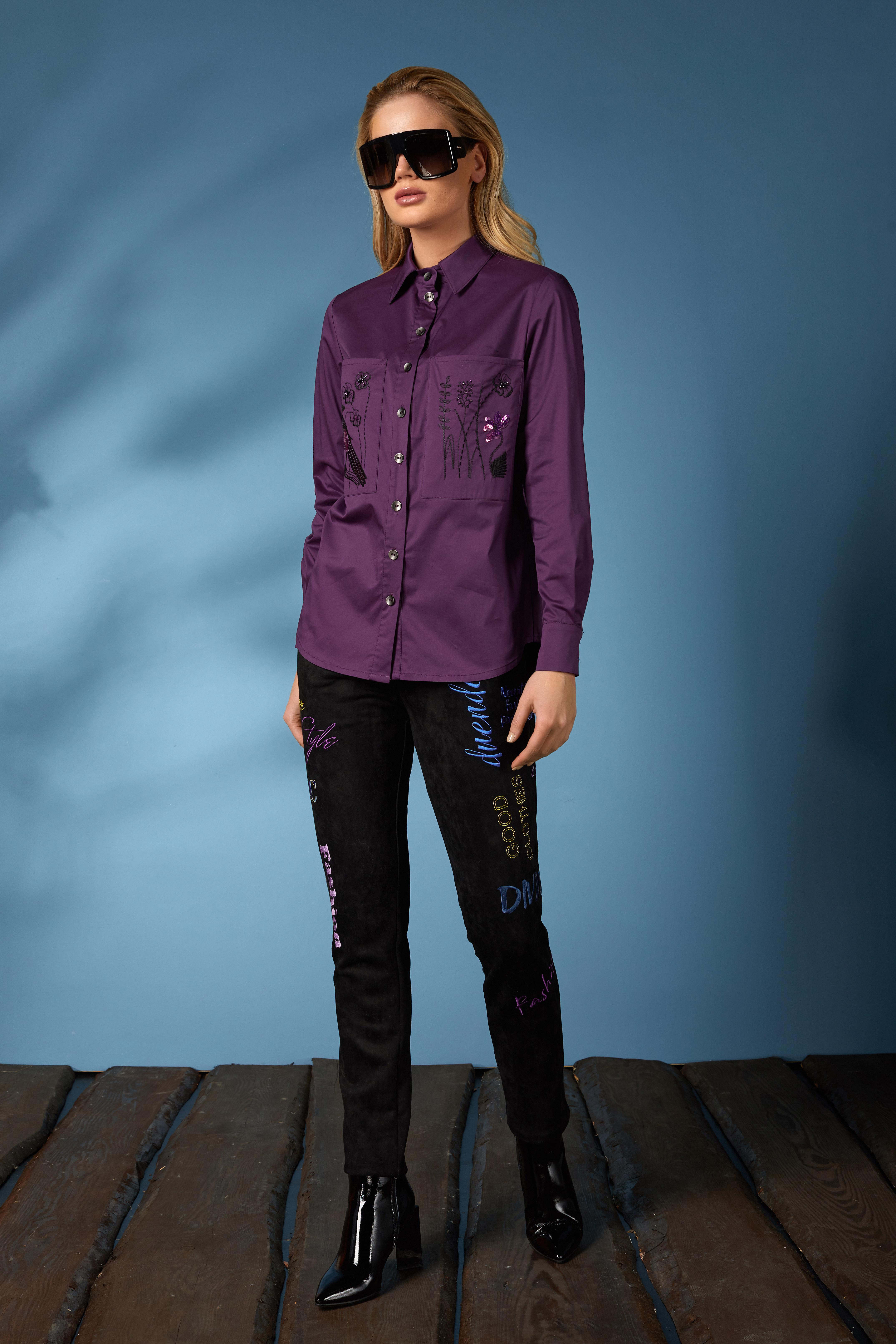 Рубашка 619-2, джинсы 631 (3)