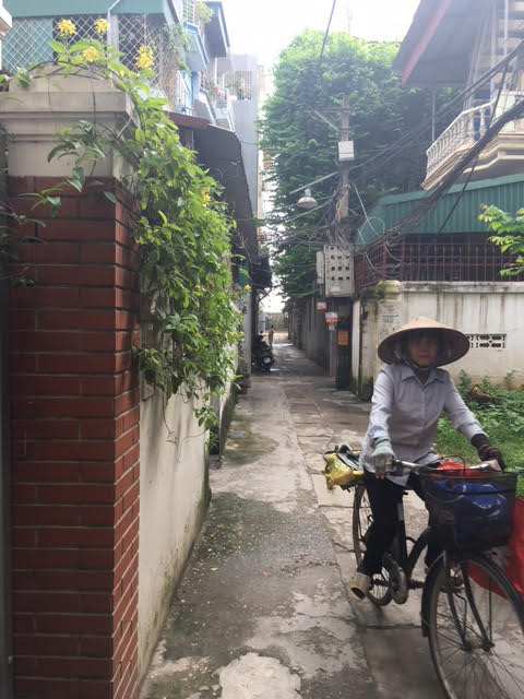 I made it to Hanoi!