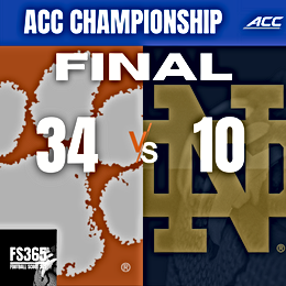 2020 ACC Championship Game Recap