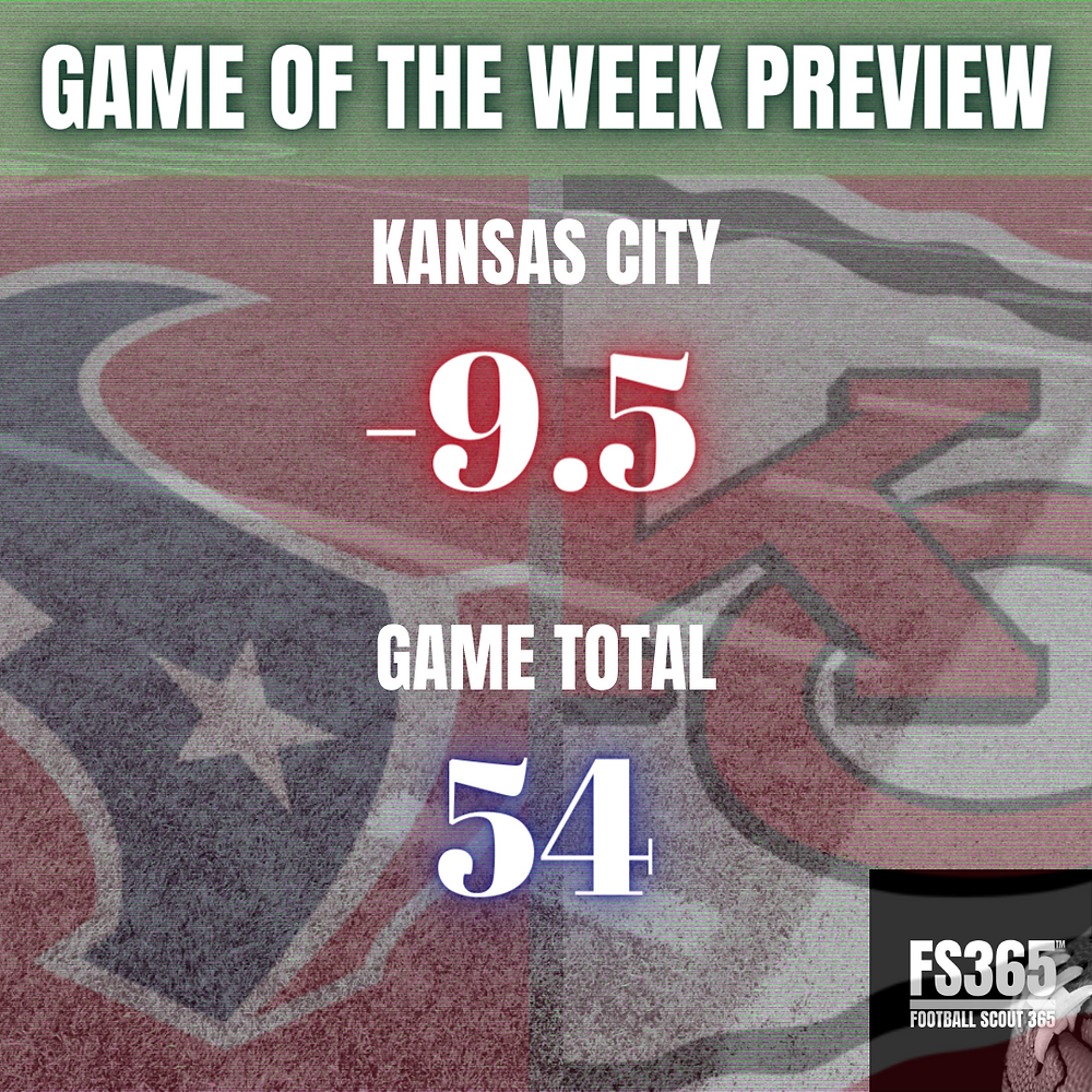 NFL Game of The Week Game Total