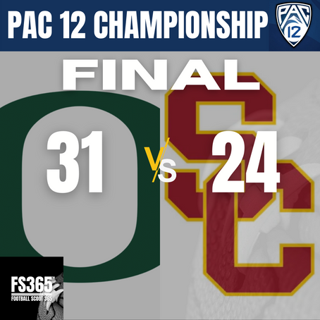 2020 Pac 12 Championship Game Recap