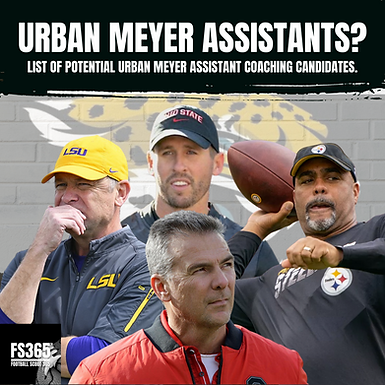 Urban Meyer To The Jaguars, How He Fills Out His Staff May Define His Tenure