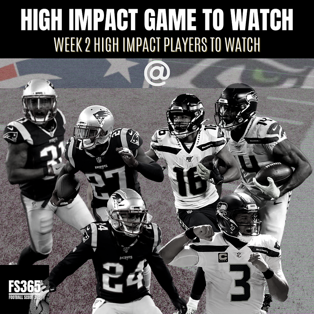 2020 Week two High Impact Players to Watch