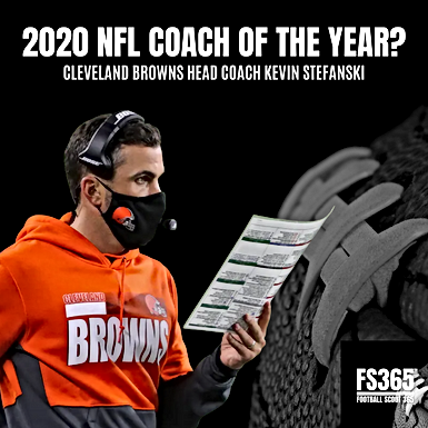2020 NFL Coach of The Year Candidate: The Cleveland Browns Kevin Stefanski