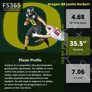 2020 NFL Draft: Oregon QB Justin Herbert Player Profile and Analysis