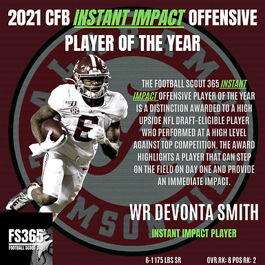 The Football Scout 365 All 2021 NFL Draft Offensive Team