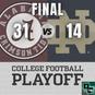 College Football Playoff Semifinal Recap: Alabama vs Notre Dame (Rose Bowl)