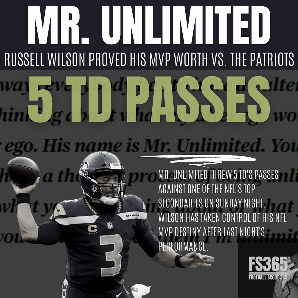 Mr Unlimited Russell Wilson
