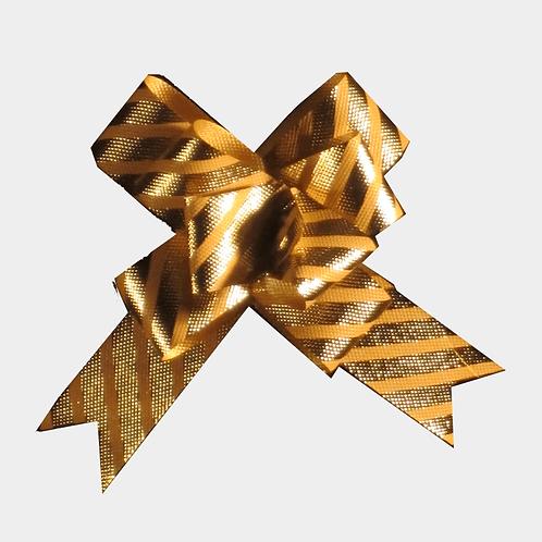 Diagonal Stripe Pull Bows 22mm