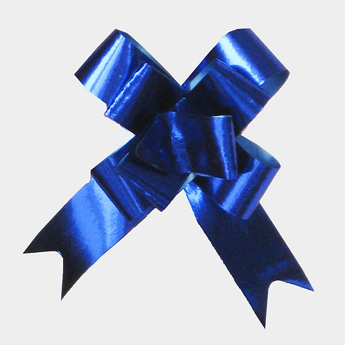 Blue Pull Bows 14mm