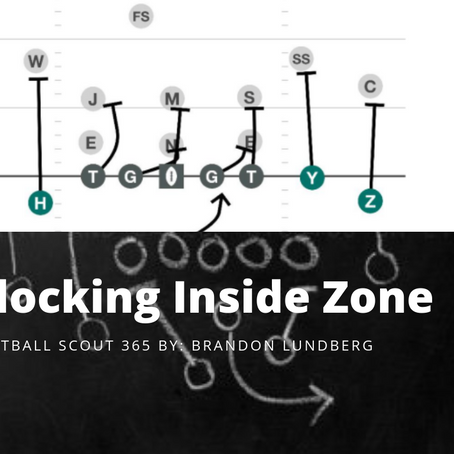 Inside the Playbook: Blocking Inside Zone