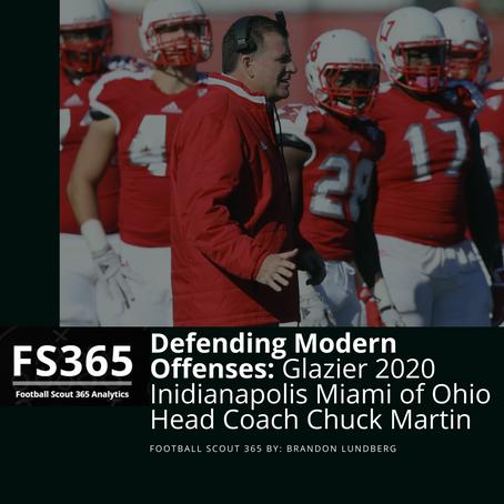 Clinic Season 2020: Glazier Indy, Miami Ohio Head Coach Chuck Martin on Defending Modern Offenses