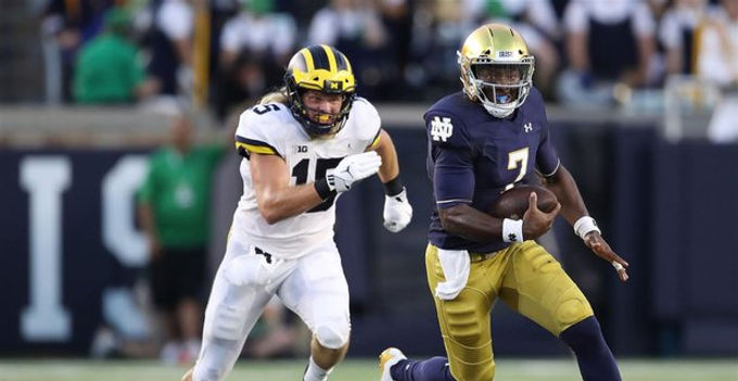 Situational BGA: Reviews Notre Dame's Offensive Third Down Success Against the Michigan Defense