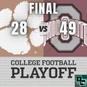 College Football Playoff Semifinal Recap: Clemson vs Ohio State (Sugar Bowl)