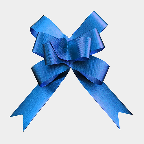 Blue Pull Bows 22mm
