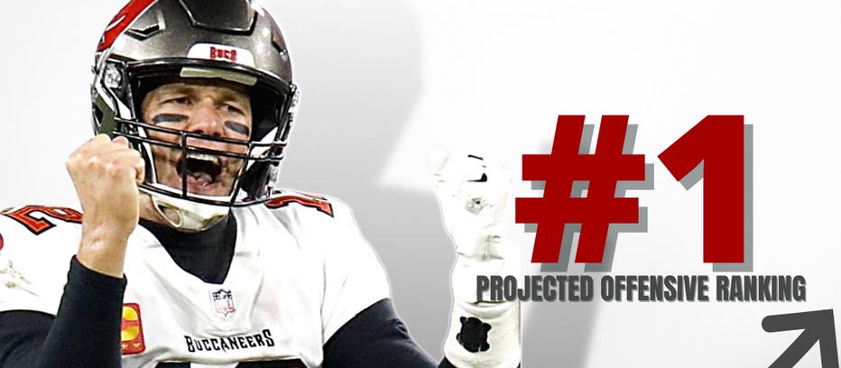 2021 Preseason NFL Overall Team Offense Top 10 Grades/Rankings