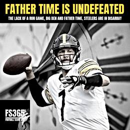 How About The Steelers: The Lack of A Run Game, Big Ben And Father Time, Steelers Are In Disarray