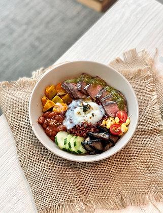 Sirloin Steak Burrito Grain Bowl